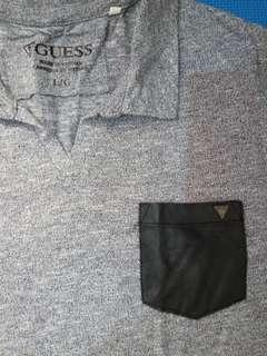 GUESS Gray Poloshirt
