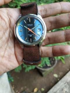 Jam tangan Garuda Golden Star 5 Blue dial