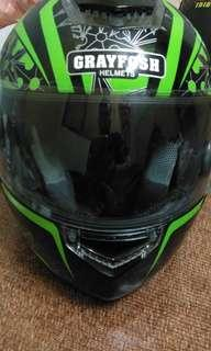 Helmet Fullface Grayfosh Green