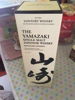 Yamazaki single malt distiller's reserve