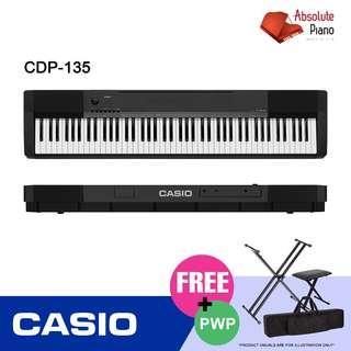 Casio Music Sale!!! Casio Digital Piano CDP-135
