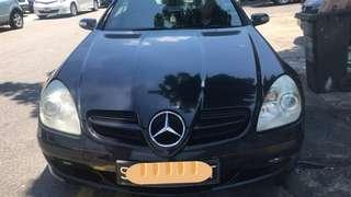 Mercedes SLK200 ML