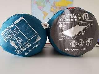 Quechua Sleeping Bag Brand New x2