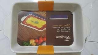 Fontignac rectangular dish