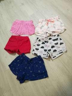 Preloved Cotton On Kids shorts for girl