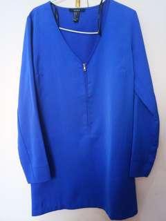 Forever 21 mini dress in blue