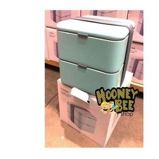 Original Miniso - Rantang 1700ml Double layer lunch box 3 warna