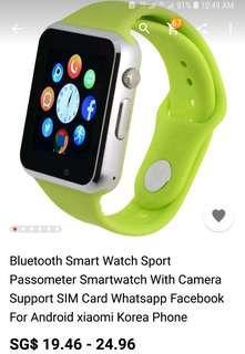 BNIB Smart Watch Bluetooth Tracking