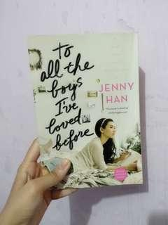 To All the Boys I've Loved Before by Jenny Han trilogy