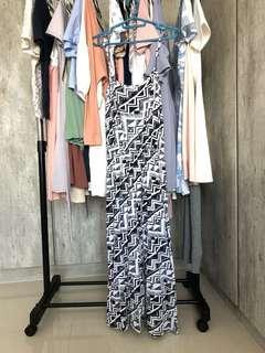 River island cotton spag Maxi Dress