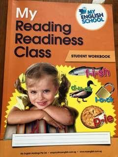 My English School My Reading Readiness Class Student Workbook