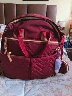 Suite by Skiphop 6 in 1 diaper bag