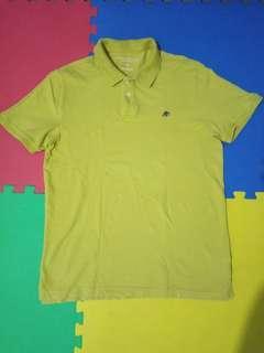AERO Mustard Poloshirt