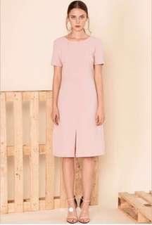 W By TCL Derlyn Slit Dress Blush Pink