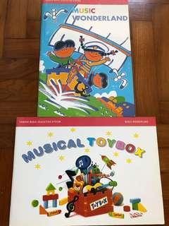 Yamaha Music Wonderland Books 2 Books