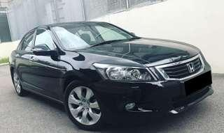 Accord 2.4A ivtec 2008/9