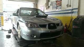 Subaru version  9 2.0A turbo 2008