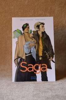 Image Comics - Saga Vol. 1 and 4 TPB