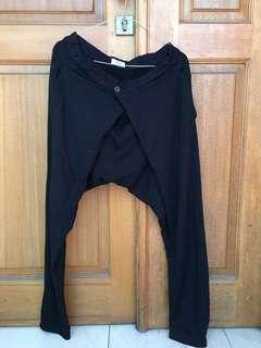 ZARA / S / Wrapped Pants / Rubber waist