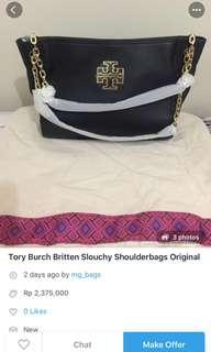 Tory burch britten slouchy authentic