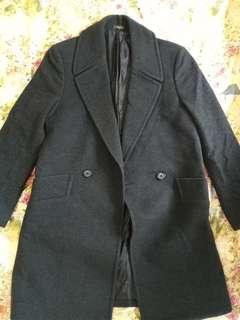 Men's flannel coat 絨褸