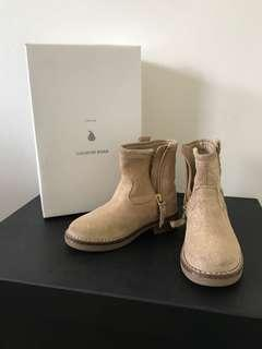 Girls country road brown boots shoes