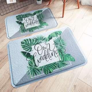 Outdoor mat : PVC outdoor floor mat - free delivery