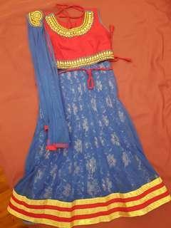 Indian skirt & top