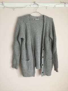 Thick Knitted Cardigan
