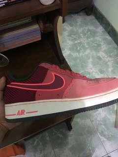 Nike air force 1 fusion red/noble red ORIGINAL