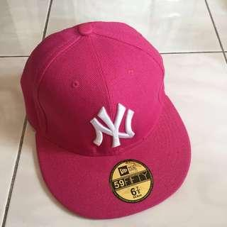 New Era Pink Baseball Cap / Snapback
