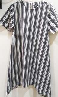 Hardware Stripes Dress