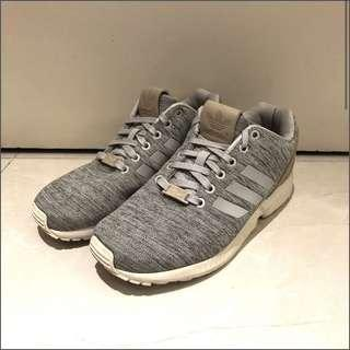 Adidas ZX Flux grey brown shoes