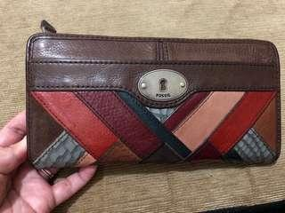 Repriced!! Fossil Leather Wallet