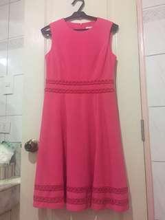 Pink Calvin Klein Dress