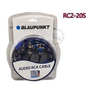 BLAUPUNKT AUDIO RCA CABLE (RC2-20S)
