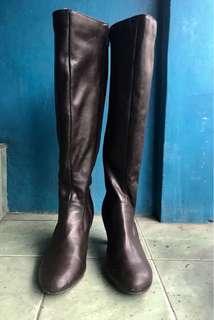 Karen Scott Brown Knee High Boots (Hanna)