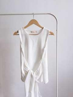 white knot top