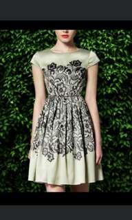 Silky Green Mint Dress #XMAS25