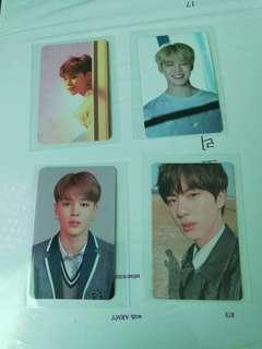 BTS Memories 2017 and photocards