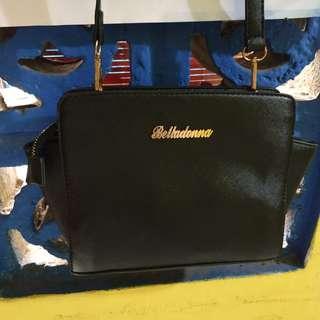 Black sling bags