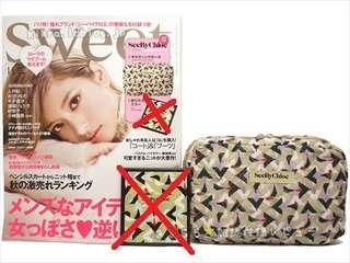 See By Chloe 雜物 收納 化妝袋(不包鏡)跟原裝紙盒 ~ 🇯🇵日本雜誌附錄袋