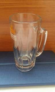 日本Asahi 400 毫升啤酒杯