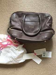 See by Chloe brown leather bag