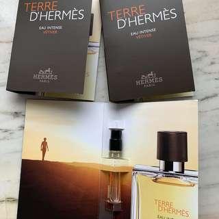 Hermes Terre D'Hermes edt  男士 香水版 試用裝  sample Perfume