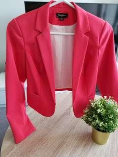Red Blazer Size 8 from Seduce Myer store