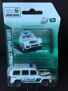 MAJORETTE MERCEDES BENZ 平治 BRABUS B63S DUBAI POLICE 杜拜 警車
