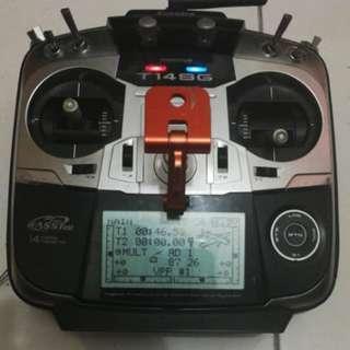 Futaba 14SG Radio 14-Channel 2.4GHz + r6208sb
