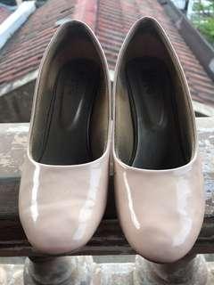 Pump shoes nude