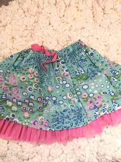 Floral Skirt Gingersnaps (1-2yr)